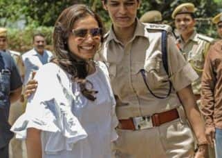 Mardaani 2: Rani Mukerji catching up with the Kota police during the shoot is a heartwarming sight - view pics