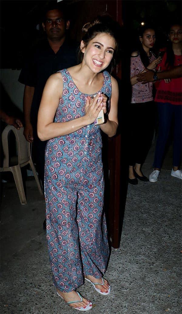 Sara Ali Khan | Namaste | Awkward Pictures