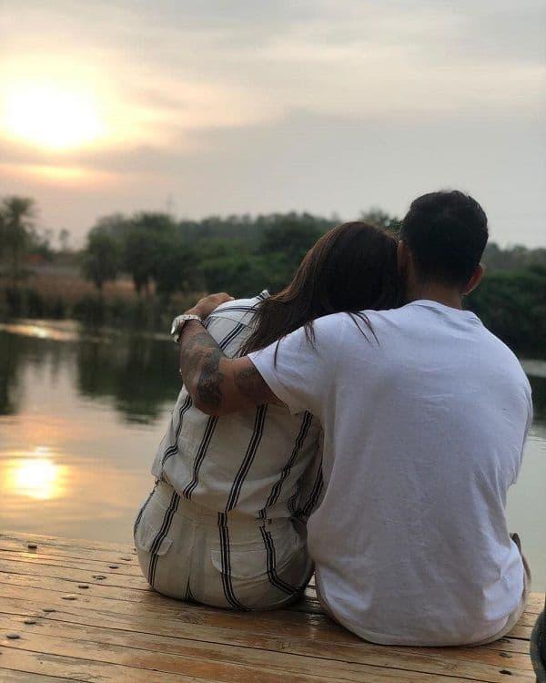 Virat Kohli and Anushka Sharma on her birthday