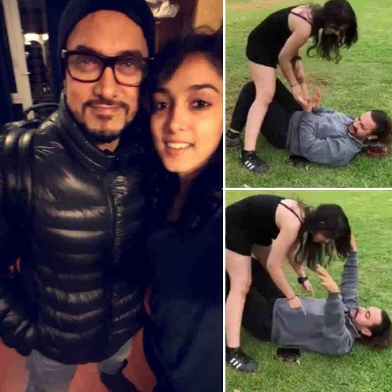 आमिर खान की बेटी ईरा ने कुछ ऐसे दी पापा आमिर खान की फादर्स-डे की बधाई
