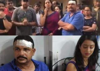Drunk goons attack the set of Shabir Ahluwalia and Mahie Gill's Fixer! Actress runs into her car while crew members get badly injured