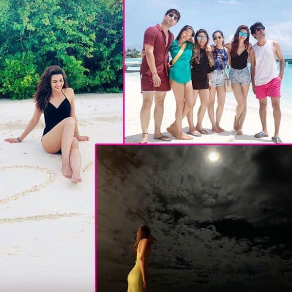 मालदीव्स में दोस्तों संग छुट्टियां बिताती दिखी कृति सेनॉन