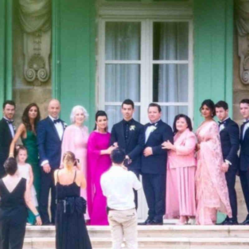 फ्रांस में हुई शादी