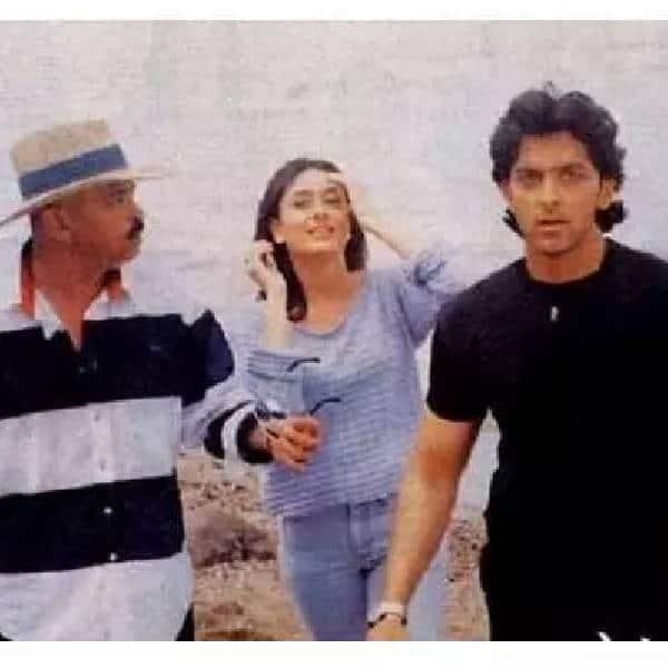 Rakesh Roshan, Kareena Kapoor, Hrithik Roshan