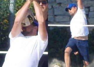 Leonardo DiCaprio gets smacked by a volleyball on his face and it turns into a meme fest on the internet