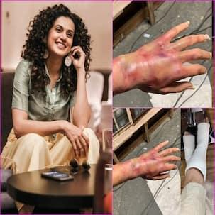 'गेम ओवर' के सेट पर तापसी पन्नू हुई गंभीर रूप से घायल, खुद तस्वीर शेयर कर बयां किया दर्द