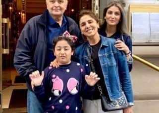 Rishi Kapoor is all smiles while enjoying a 'famjam' moment in NYC – view pic