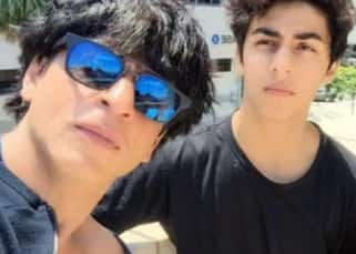 Shah Rukh Khan and Aryan turned Mufasa and Simba as they cheered for India in the IND vs PAK match - view pic