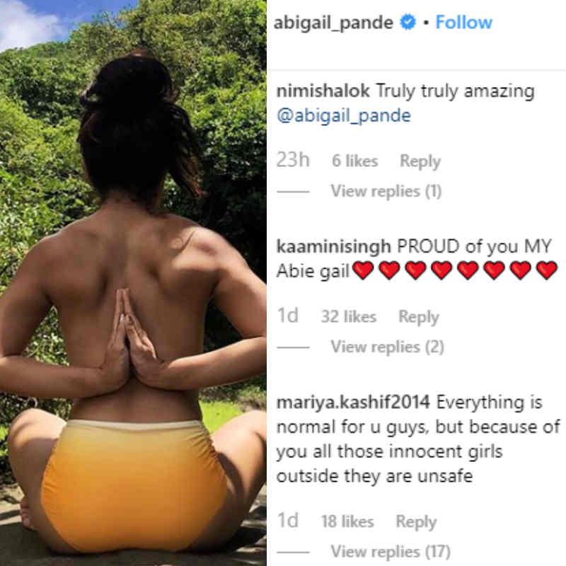 Abigail Pande के फैंस ने लिखा, 'हमें तुम पर गर्व है...'