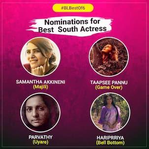 #BLBestof6: Samantha Akkineni, Parvathy, Hariprriya or Taapsee – who's performance did you like the most?