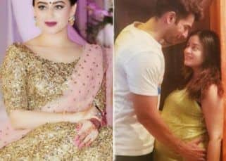 Mahhi Vij and Jay Bhanushali get romantic on a dinner date - view pic