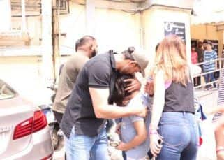 VIDEO: Hrithik Roshan wins our hearts once again as he consoles a young fan with a kiss