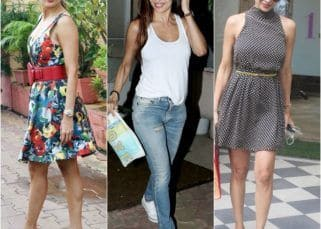 THESE pictures prove that no outing of diva Malaika Arora can ever be low on style