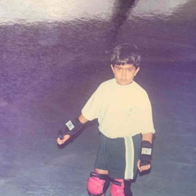 सोनम ने शेयर की  Anand Ahuja के बचपन की तस्वीर
