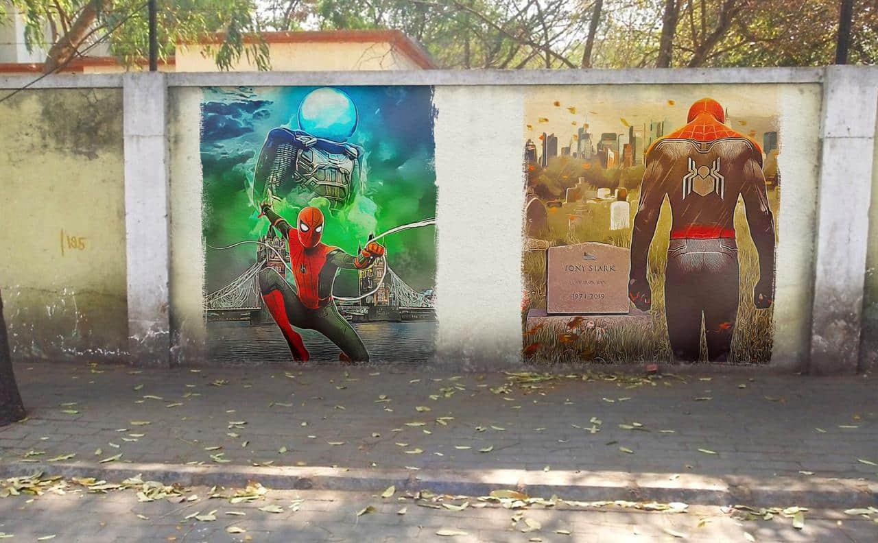 Spiderman: Far From Home | India Graffiti | Tom Holland |
