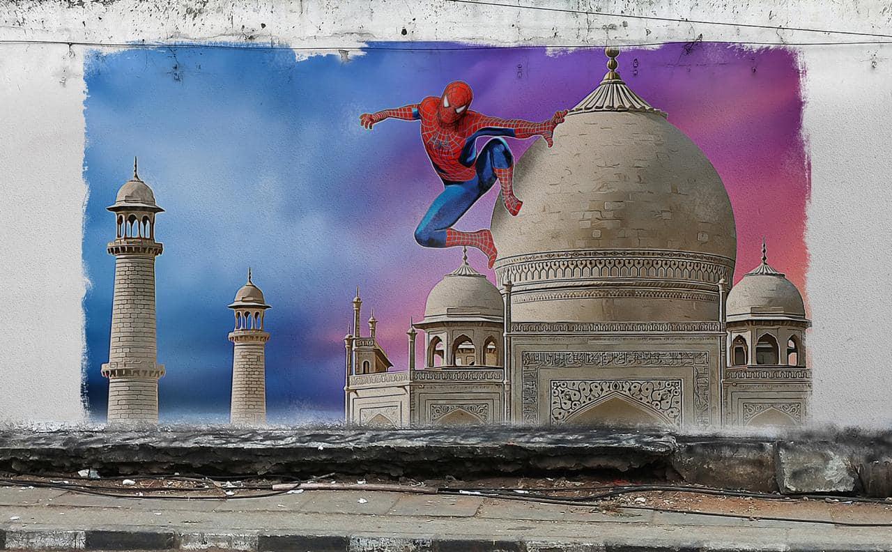 Spiderman: Far From Home | India Graffiti | Tom Holland | Spiderman: Far From Home | India Graffiti | Tom Holland |