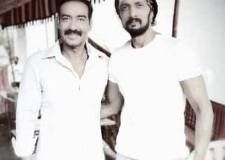 Here's what happened when 'Singham' Ajay Devgn met Pailwaan Kichcha Sudeepa - view pic