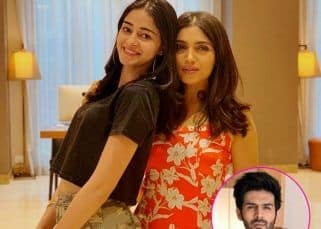 Bhumi Pednekar and Ananya Panday are not missing their 'pati' but Kartik Aaryan makes his presence felt