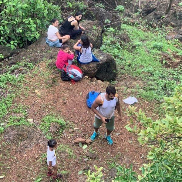जंगल में मनाया मिनी वेकेशन