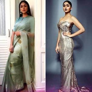 Insta-stalker Alert! From sarees to gowns, Kumkum Bhagya's Mrunal Thakur knows how to get her look right