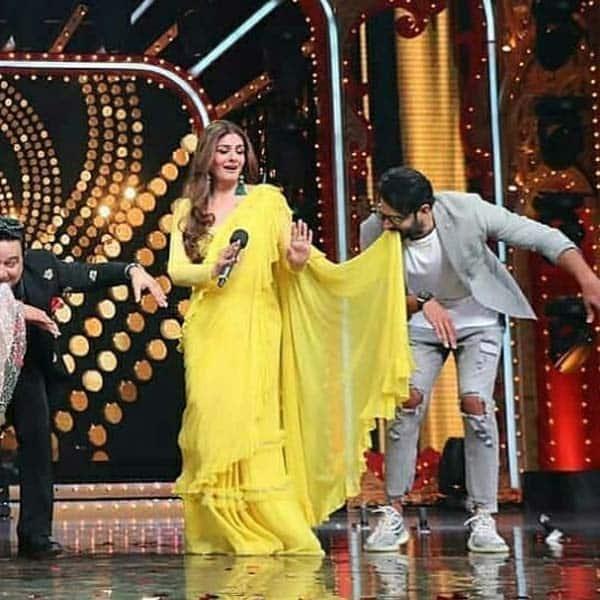 Raveena Tandon के साथ दिया Salman Khan का हुक स्टेप