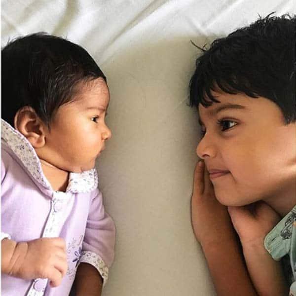 अपनी बहन के साथ Sameera Reddy के बेटे की होगी पहली राखी