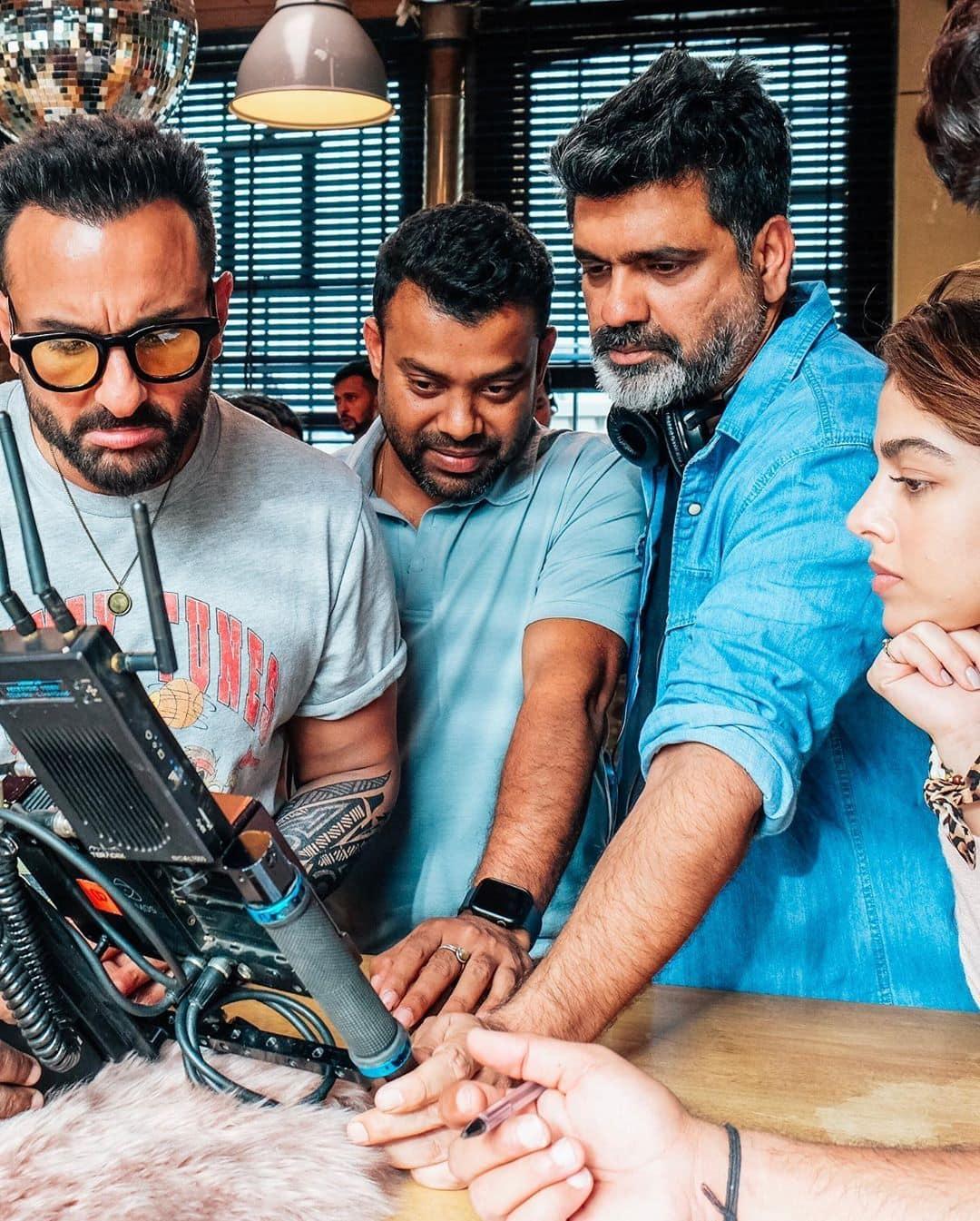 Jawaani Jaaneman फिल्म के सेट से तस्वीरें की शेयर