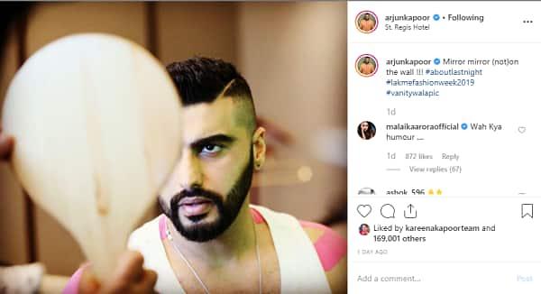 Arjun Kapoor   Malaika Arora   Instagram comments  