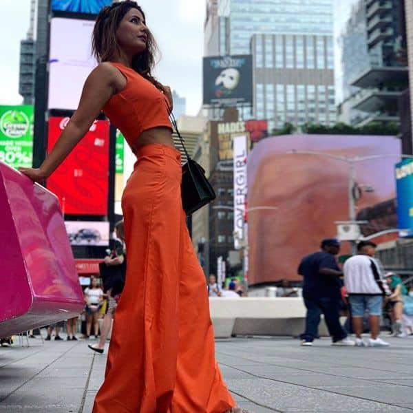 जब अचानक से Hina Khan को याद आए संतरे