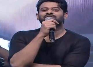 'Sujeeth came in shorts to narrate the story of Saaho,' Prabhas at Saaho pre-release event