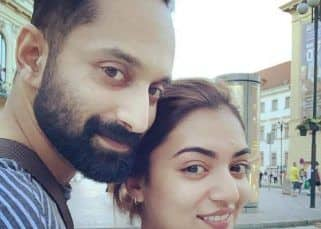 Nazriya Nazim shares an adorable picture with hubby Fahadh Faasil on their fifth wedding anniversary