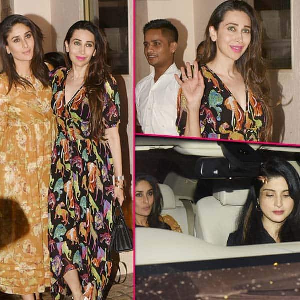 Anil Kapoor के घर हंगामा मचाने पहुंची Kareena और Karisma Kapoor