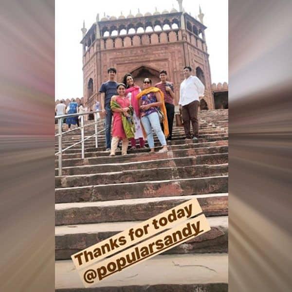 जामा मस्जिद की तारीफें करती दिखीं स्वरा