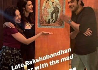 Taarak Mehta Ka Ooltah Chashmah's Munmun Datta aka Babita ji on a Rakshabandhan dinner with original Tappu, Bhavya Gandhi