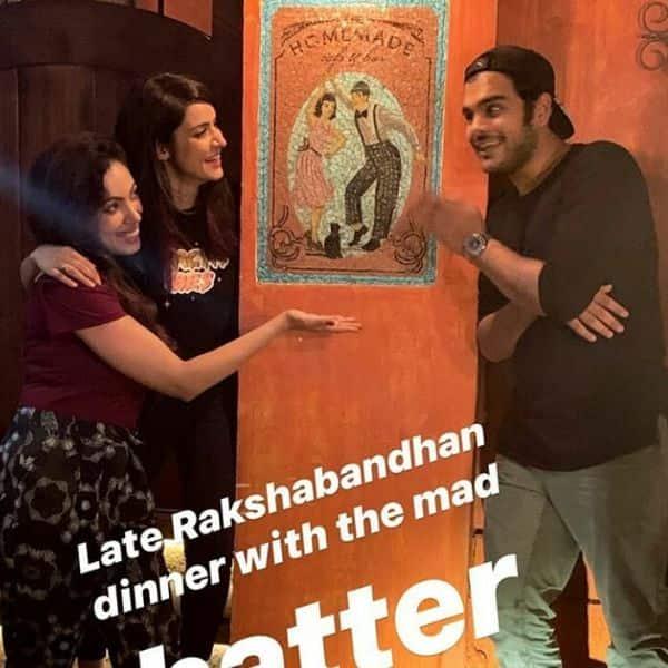Taarak Mehta Ka Ooltah Chashmah's Munmun Datta aka Babita ji on a Rakshabandhan dinner with original Tappu, B - Bollywood Life