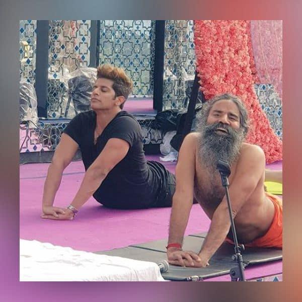 योगा करने में माहिर है Karanvir Bohra