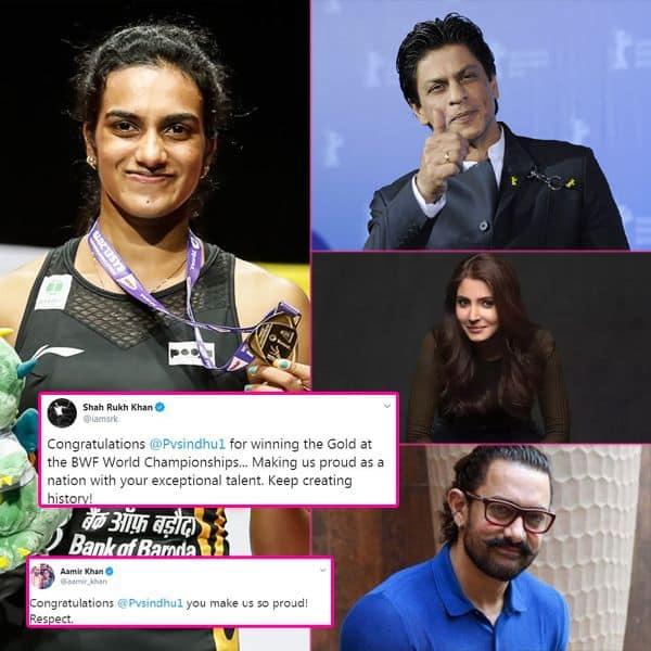 गोल्ड जीतने के बाद PV Sindhu की तारीफ करते थक नहीं रहे हैं बॉलीवुड के सितारे