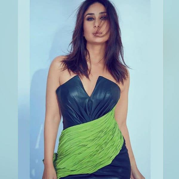 कैमरे के सामने जमकर पोज देती दिखी Kareena Kapoor