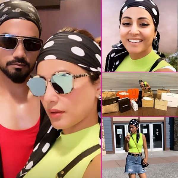शॉपिंग मोड पर आई Hina Khan