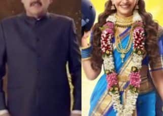 The Zoya Factor trailer announcement gets a quirky twist as Pankaj Dheer sells the 'Zoya Kavach' featuring Sonam Kapoor- watch video