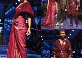 LFW 2019: Days after announcing her pregnancy, Lisa Haydon walks the ramp with Hardik Pandya - watch video