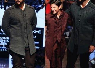 LFW 2019: Arjun Kapoor walks the ramp in swag with brother Jahaan Kapoor for designer Kunal Rawal - watch videos