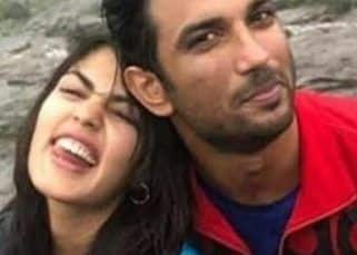 'Skilltastic,' Rhea Chakraborty is highly impressed with rumoured boyfriend Sushant Singh Rajput's sketching skills