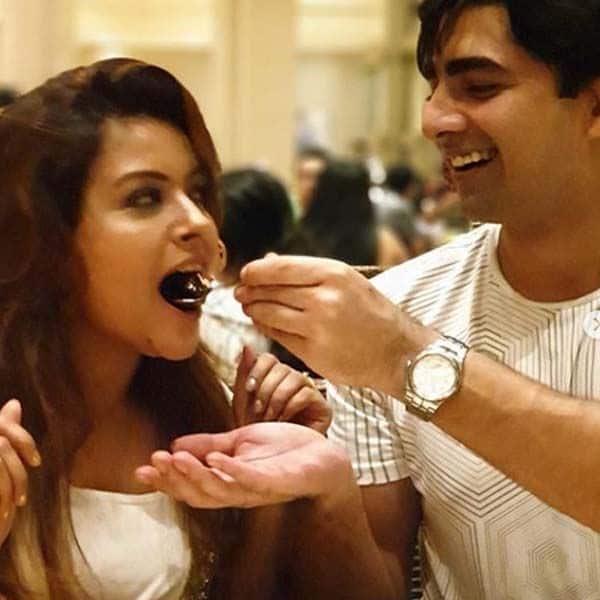Shehzad Shaikh ने शिल्पा को खिलाया केक