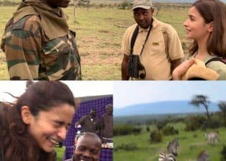 Alia Bhatt releases her African Safari vlog and fans are curious to know if Ranbir Kapoor has shot it