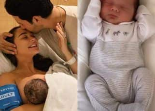 Amy Jackson shares a glimpse of son Andreas and it's too cute for words