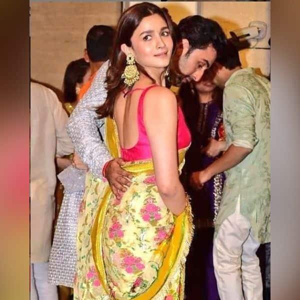 Alia Bhatt के साये की तरह घूमते नजर आए Ranbir Kapoor