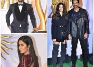 IIFA Rocks 2019: Vicky Kaushal, Katrina Kaif, Arjun Rampal - Gabriella Demetriades and others dazzle on the green carpet
