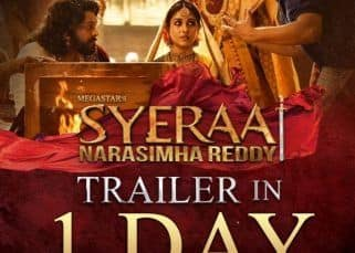 Sye Raa Narasimha Reddy trailer: Makers drop a new countdown poster featuring Chiranjeevi and Nayanthara