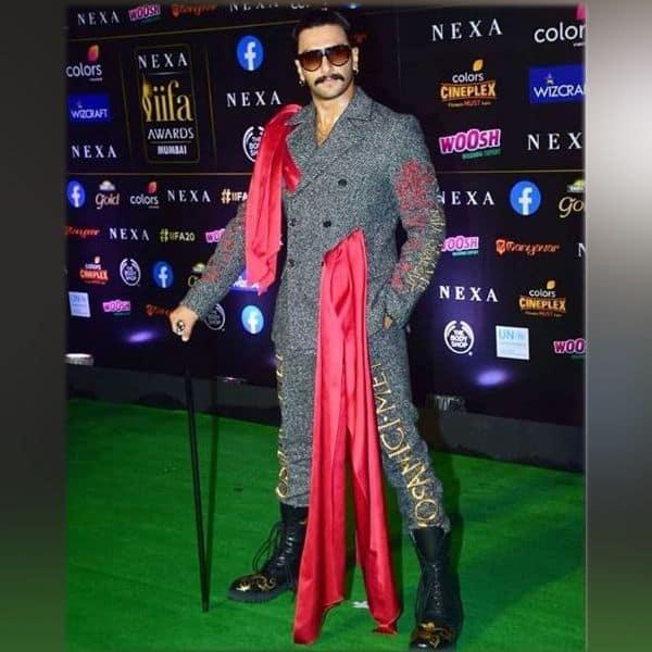 एक बार फिर अटपटे अंदाज में दिखे रणवीर सिंह
